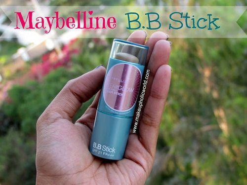 Makeupholic World: BB Stick Review