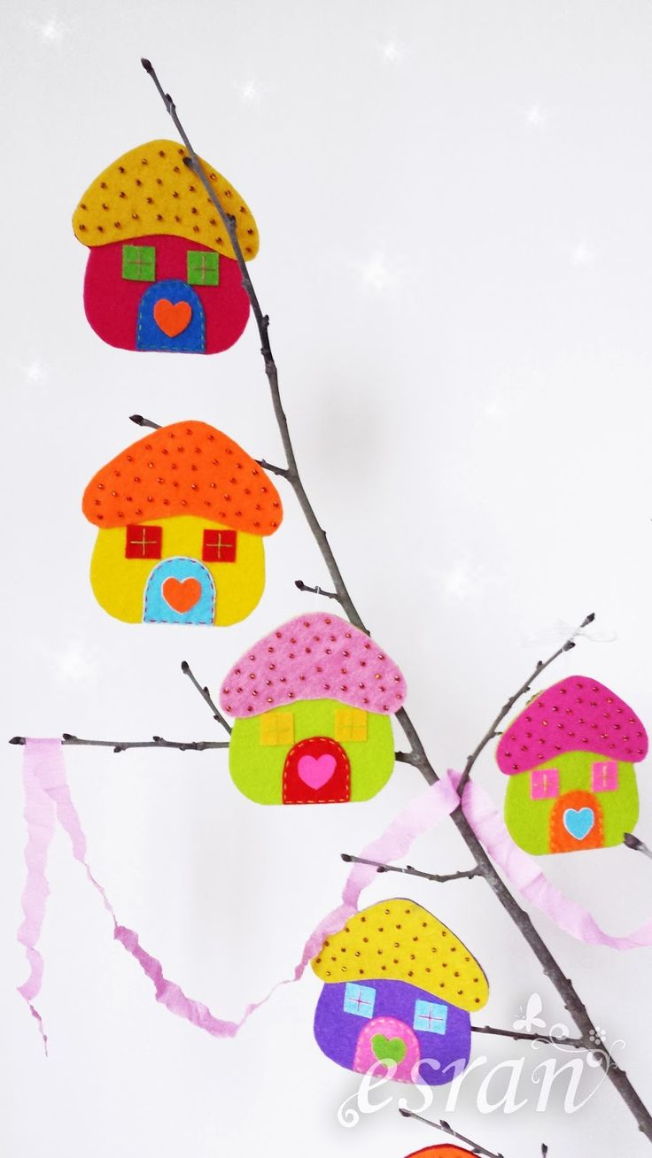 cıvıl cıvıl: Rengarenk minik evler