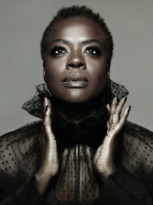 Viola Davis By Ruven Afanador (Makeup by Francesca Tolot for Cloutier Remix) Más