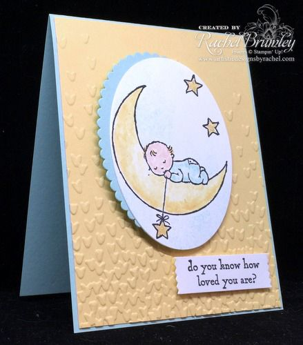 Moon Baby Stampin' Up!