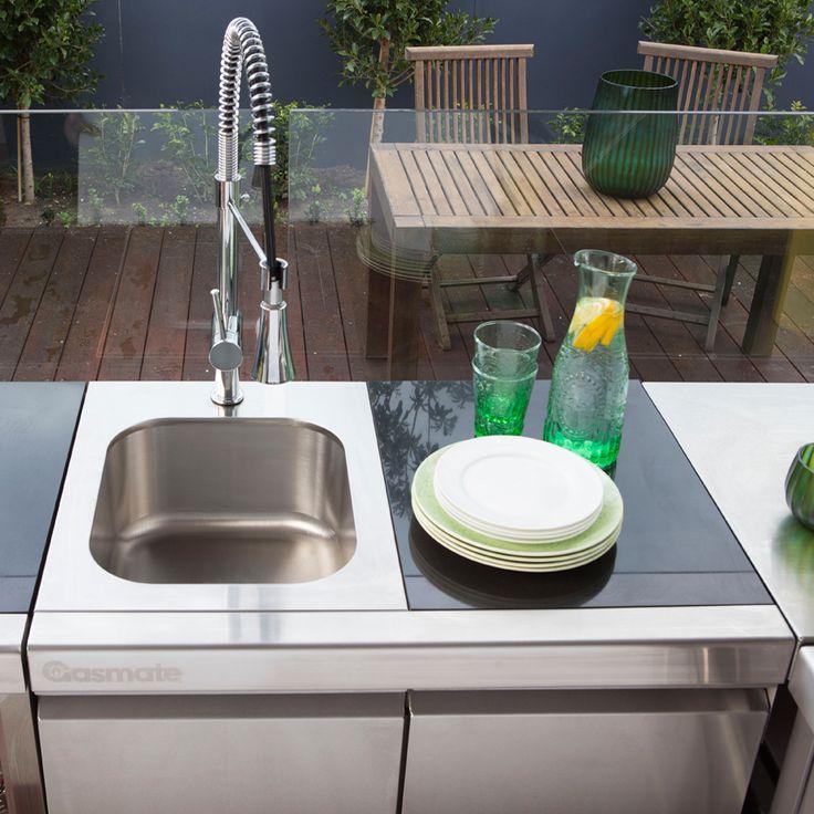 Gasmate Platinum II Sink, Bin & Storage Module