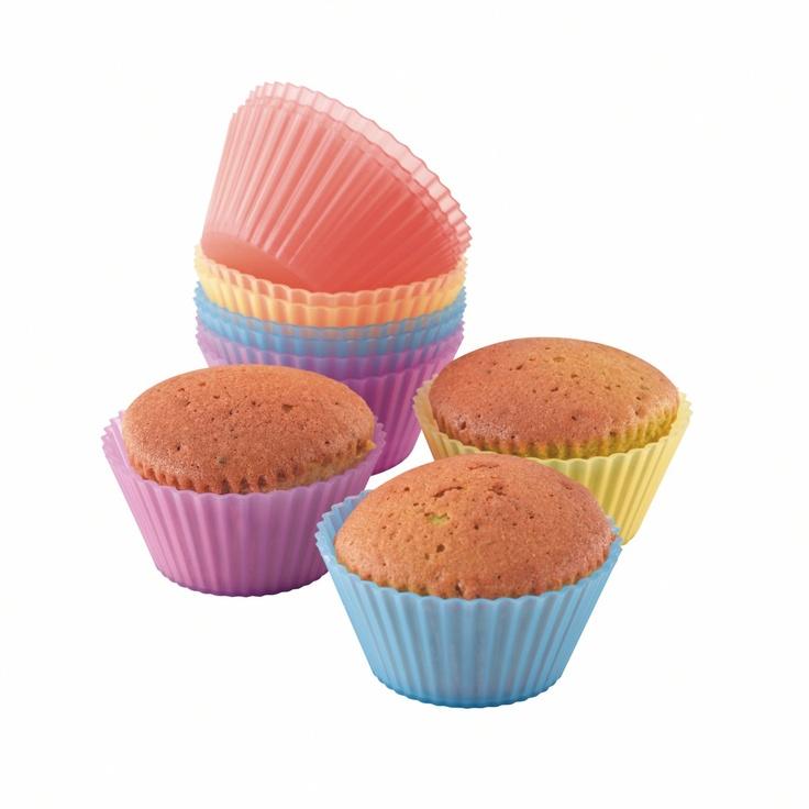 Domoclip MEN77 12 Moules Silicone à Cup Cake: Amazon.fr: Cuisine & Maison
