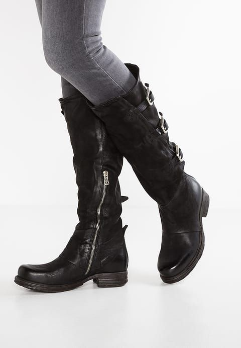 A.S.98 Cowboy/Biker boots - nero for £254.99 (08/12/17) with free delivery at Zalando