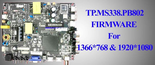 TP MS338 PB802 FIRMWARE For 1366*768  #TP_MS338_PB802