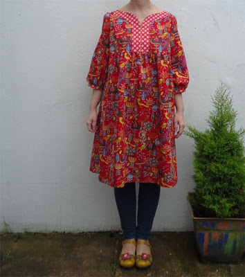 Home sewing - dress T from Stylish Dress Book: Wear With Freedom