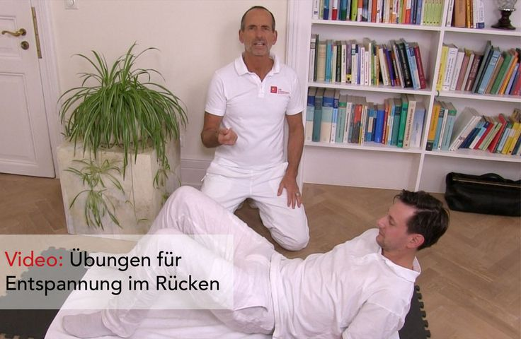 Übungen bei Rückenschmerzen - Der Schmerzspezialist Roland Liebscher-Bracht zeigt Ihnen Übungen gegen Rückenschmerzen und Entspannung im Rücken.
