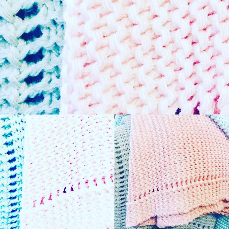 Kocyki tkane LAttante. Pastelowe kolory. Handmade . Poland. Śliczne. Wyprawka