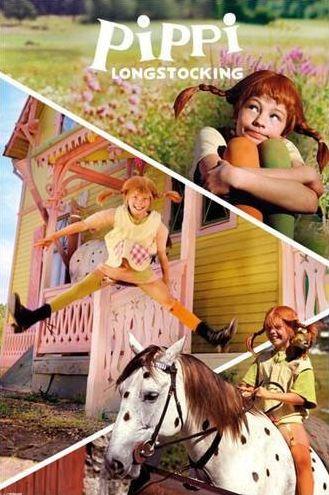 Pippi Langstrumpf im Kinderpostershop