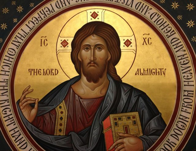 Image result for Roman Catholic pantocrator icon