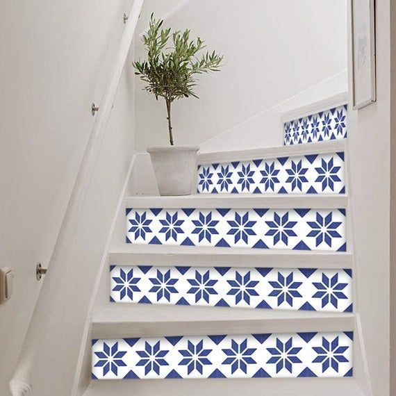 Carrelage Adhesif Tile Stickers Stair Stickers Stickers Etsy Stair Stickers Tile Decals Mosaic House