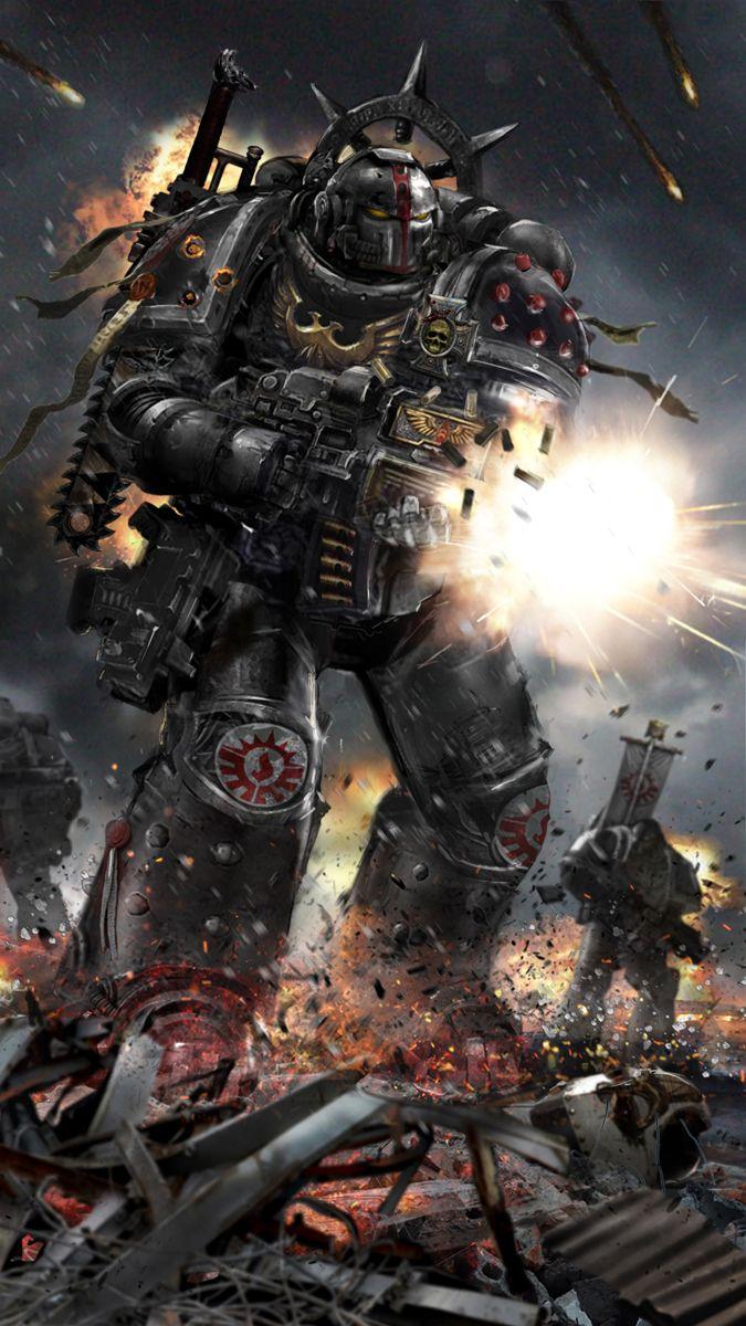 redskullsmadhouse:  warhammer_40k_by_uncannyknack