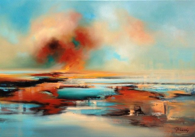 Restless Souls by Beata Belanszky - Demko - Vango Original Art