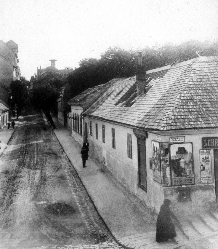 1913 Zárda - Rómer Flóris és Tudor - Buday László utca sarok