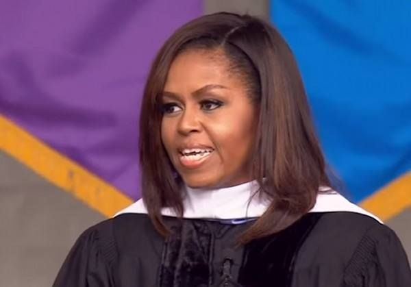 DISGUSTING! Michelle Obama Takes Cheap Shot At Trump in Commencement Speech (VIDEO)  Aleister Jun 4th, 2016