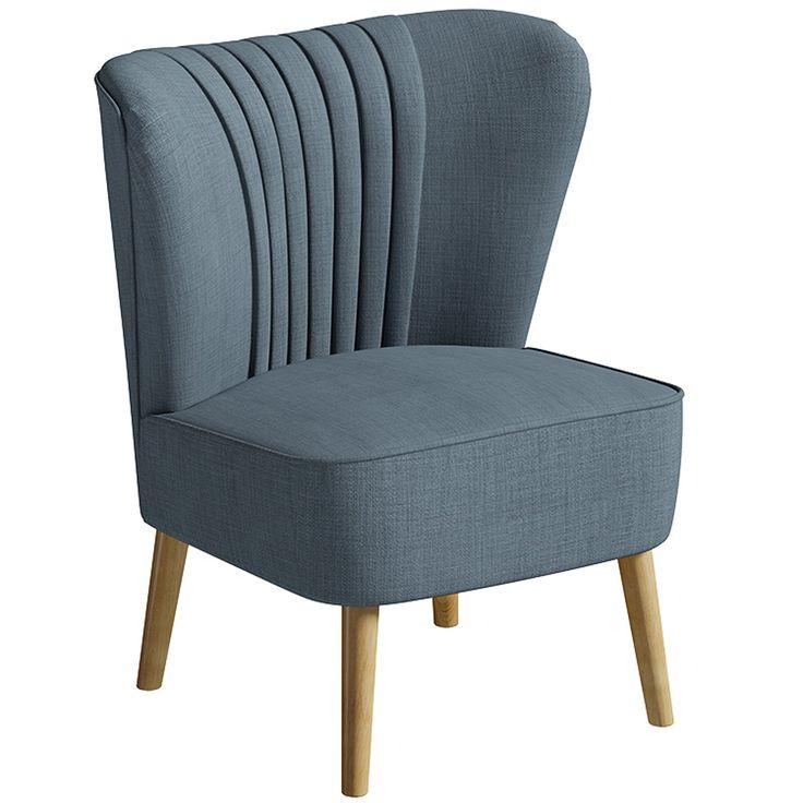 Greenberg Cocktail Chair - Denim — Matalan Direct