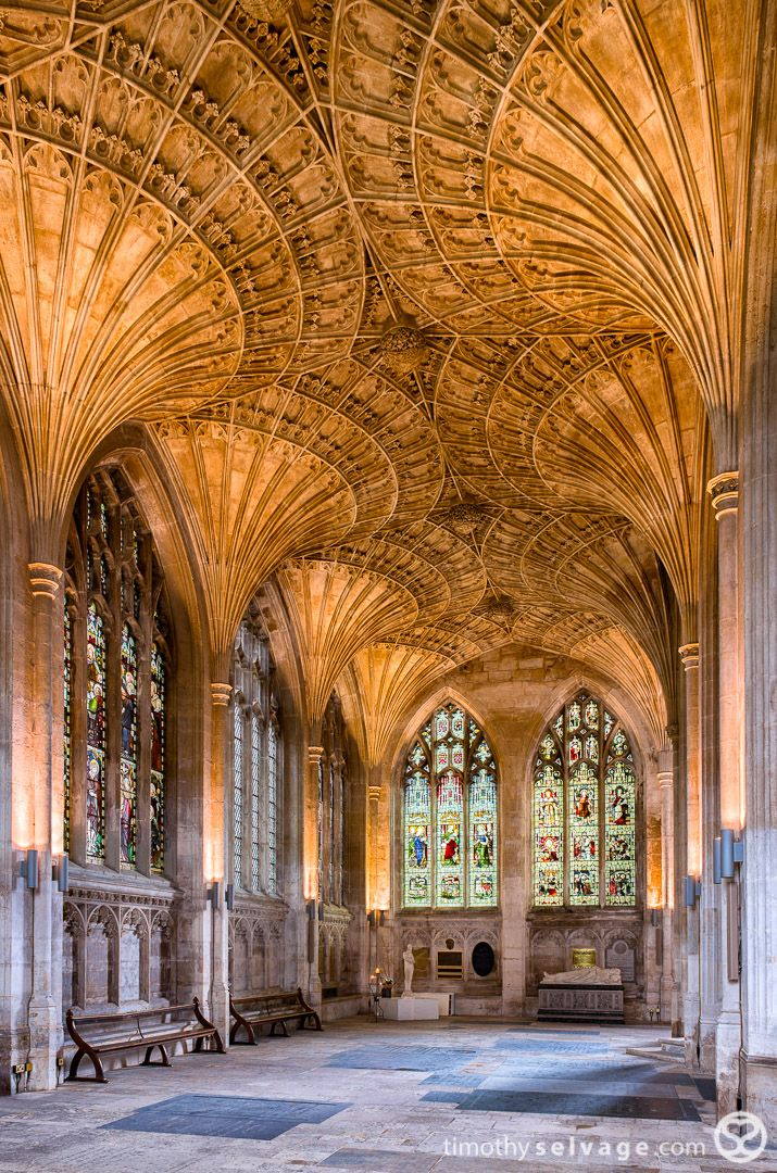 Built in 1118, Peterborough Cathedral, England