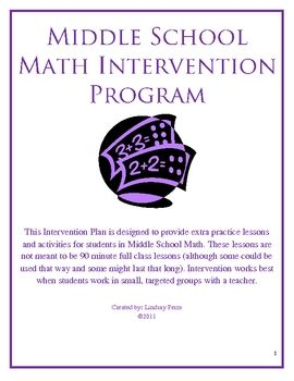 This 143 page intervention plan includes 13 lessons designed to provide extra practice and reinforcement for...
