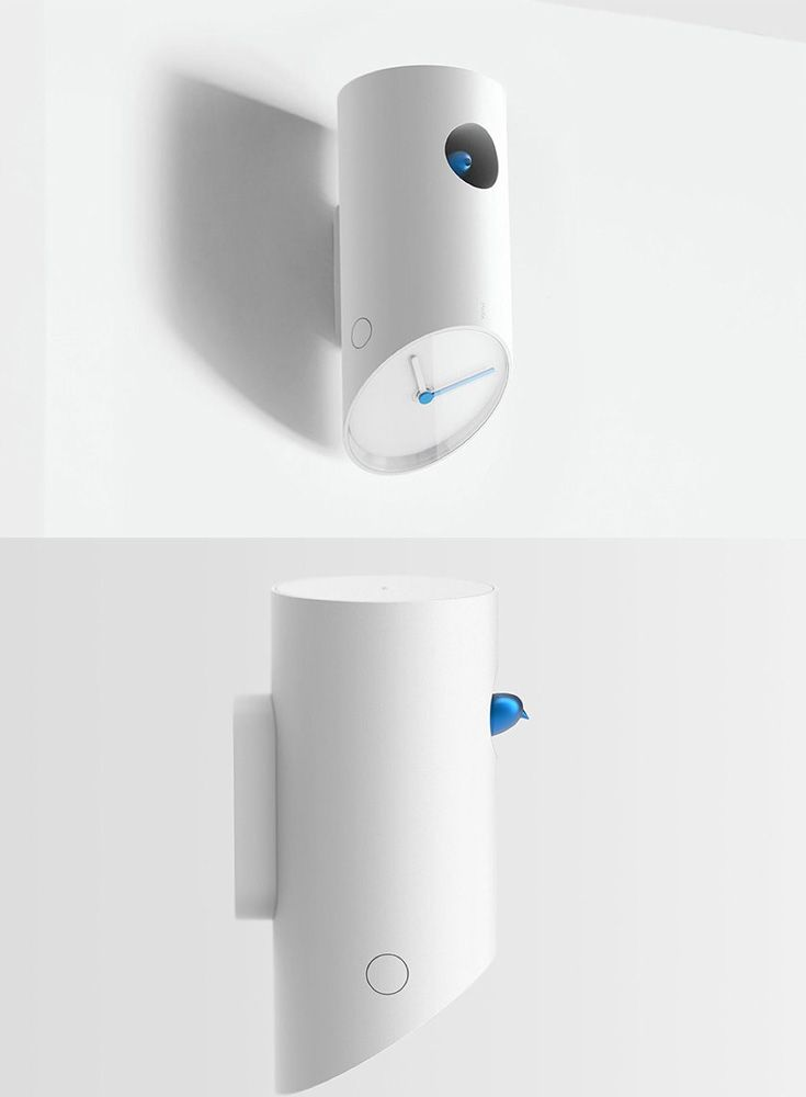 The 'Cuckoo Clock' designed by the Intenxiv group takes a great modern twist to an old classic, since birds live in trees, the clock should reflect that more so than that of a human house... READ MORE at Yanko Design !