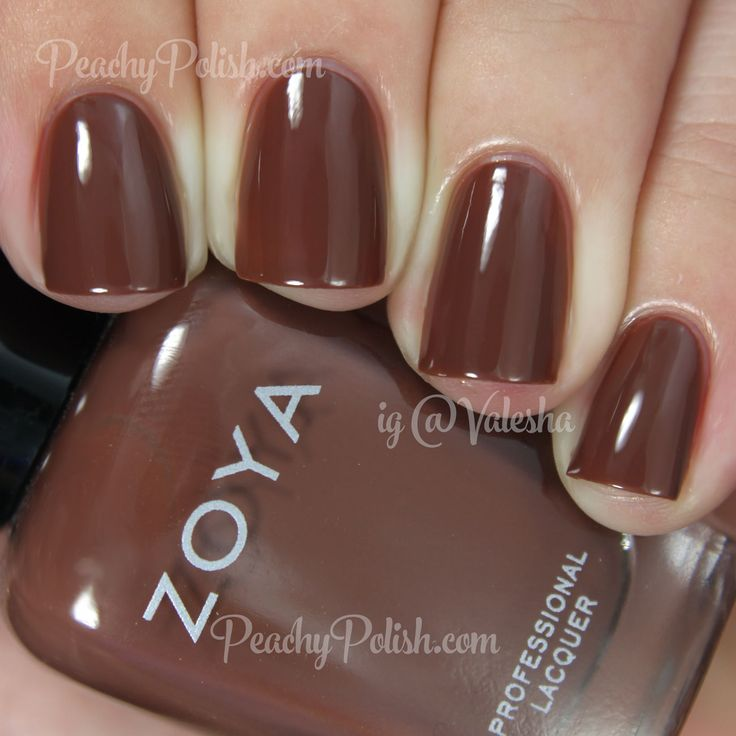 25 Best Brown Nail Polish Images On Pinterest Brown Nail Polish Zoya Nail Polish And Nail Polish