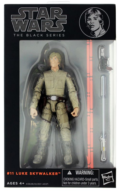 "Star Wars 6"" Black Series Action Figure - Luke Skywalker"