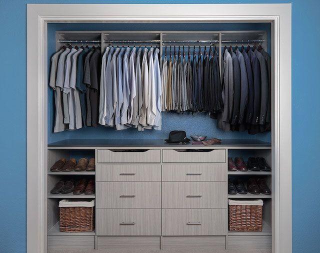 Small Bedroom Closet Ideas: 17 Best Ideas About Reach In Closet On Pinterest