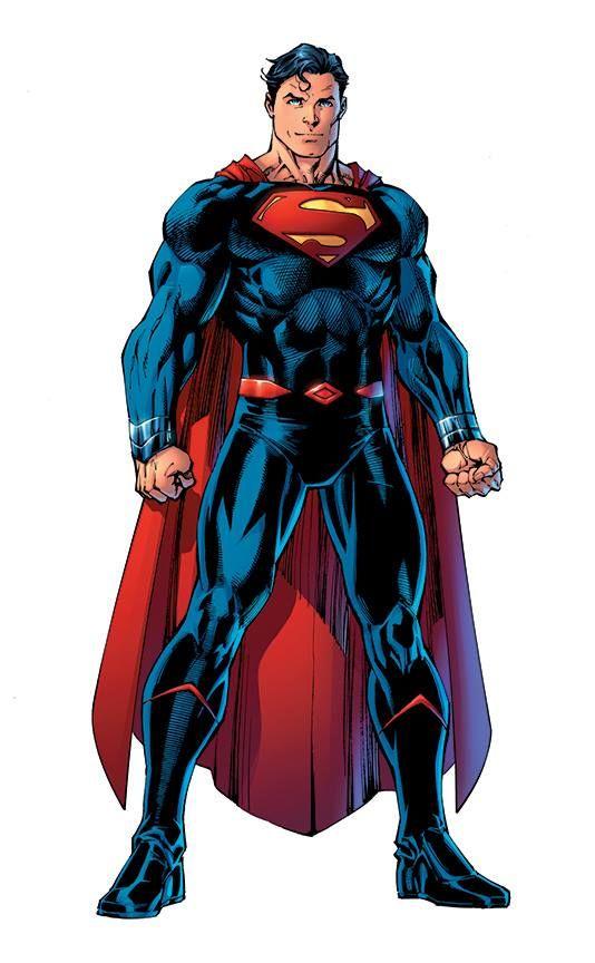 Rebirth: Superman by Jim Lee, colours by Alex Sinclair *