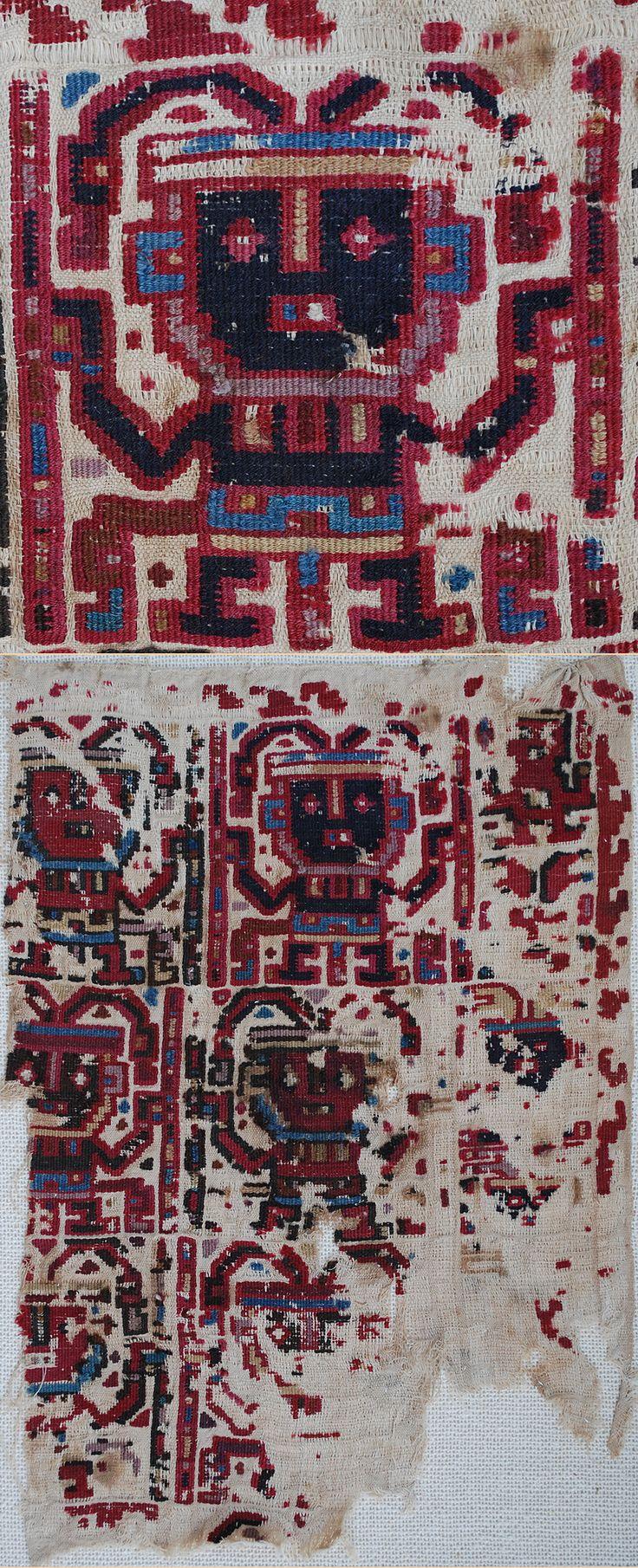 Pre-Colombian Textiles - TextileAsArt.com, Fine Antique Textiles and Antique Textile Information