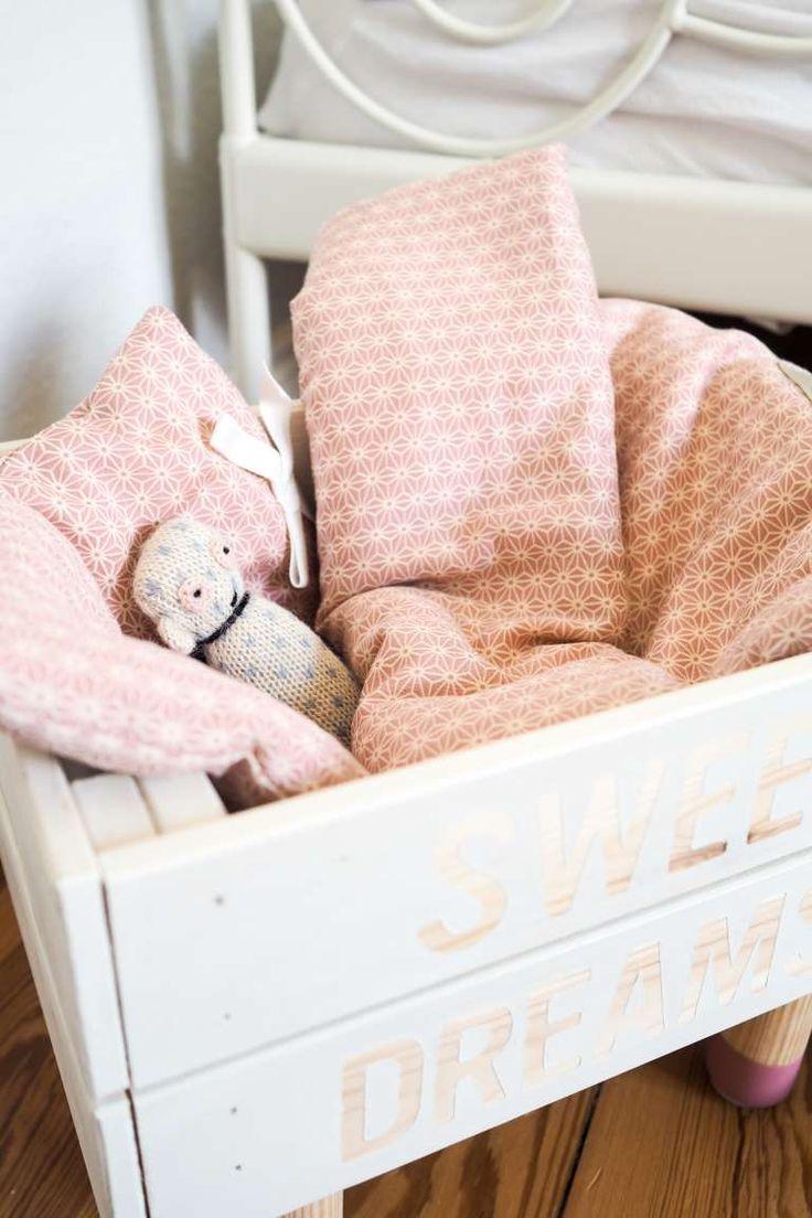 kinderzimmer deko die sch nsten accessoires rund um s schlafen puppenbettw sche kinderzimmer