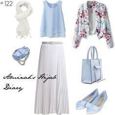 Hijab Fashion 2016/2017: aminahshijabdiary #affordable #hijab #muslima #fashion #style #look #outfit #ootd #summer #blue #white #flower Hijab Fashion 2016/2017: Sélection de looks tendances spécial voilées Look Descreption aminahshijabdiary #affordable #hijab #muslima #fashion #style #look #outfit #ootd #summer #blue #white #flower