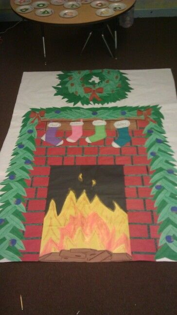Construction Paper Construction And Fireplaces On Pinterest