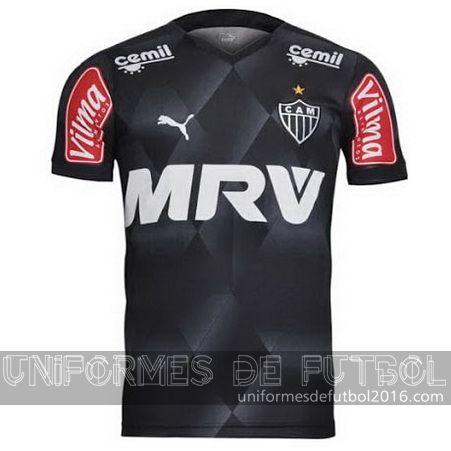 Venta de Jersey tercera para uniforme del Tailandia Atletico Mineiro 2016