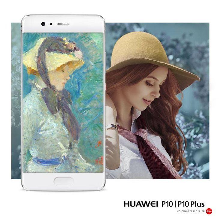 Il #RitrattoPersonale della primavera, le pennellate veloci e la capacità di catturare il momento con la Dual-Camera da 20 + 12 MP di #HuaweiP10, perché #SelfieIsTheNewPortrait! 🎨