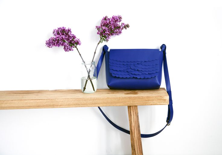 Kuula + Jylhä SS16  While mini bag Deep Blue