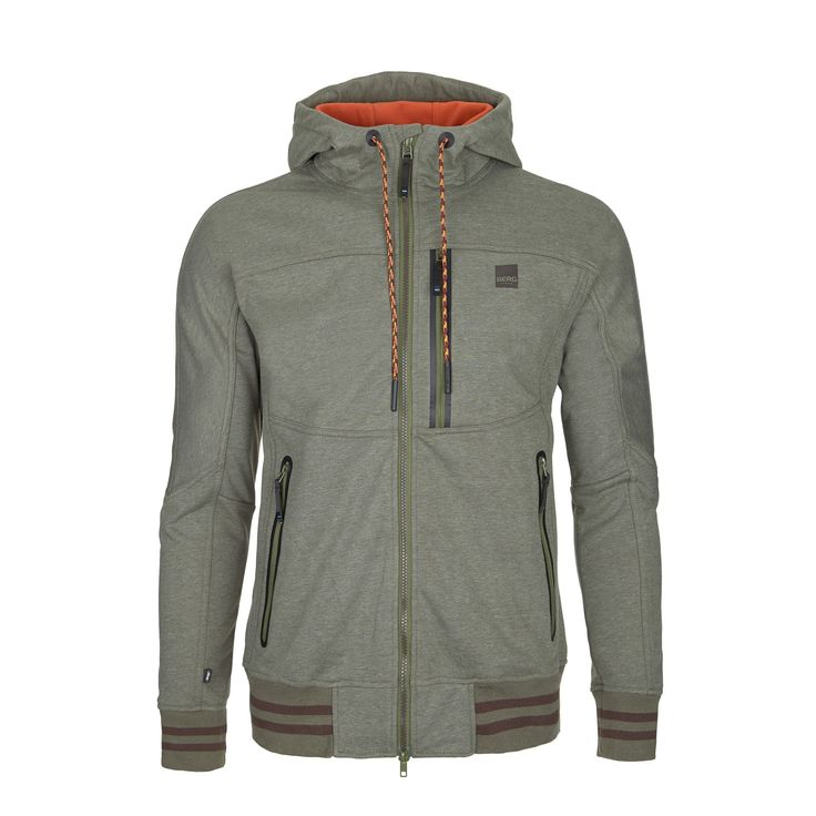 Water-repellent softshell with excellent insulation to wear on cold and rainy days in the city.