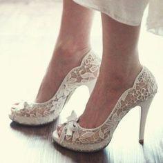 36 Preciosos Zapatos de Novias para Primavera