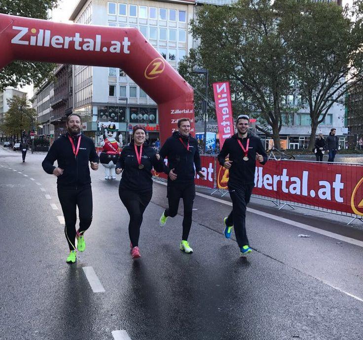 Frankfurt Marathon Staffel. Mit dem Zillertal auf der Rekord-Strecke | Sports Insider Magazin