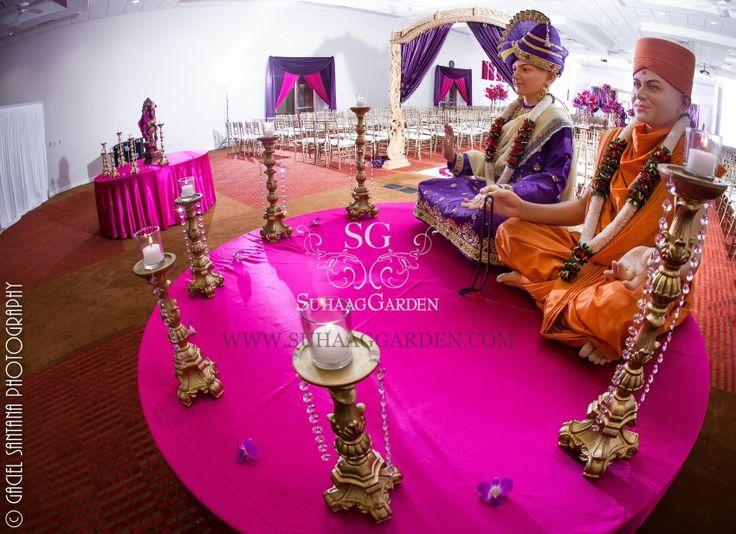 Kinnari Roshan Indian Wedding Boynton Beach BAPS Mandir Suhaag Garden22