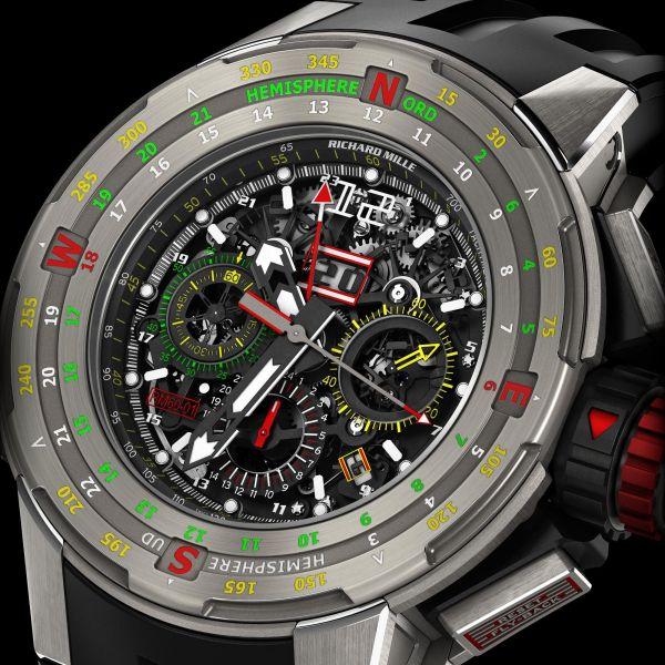 134000€ Richard Mille - RM 60 - RM60-01 Ti Navigation Regatta