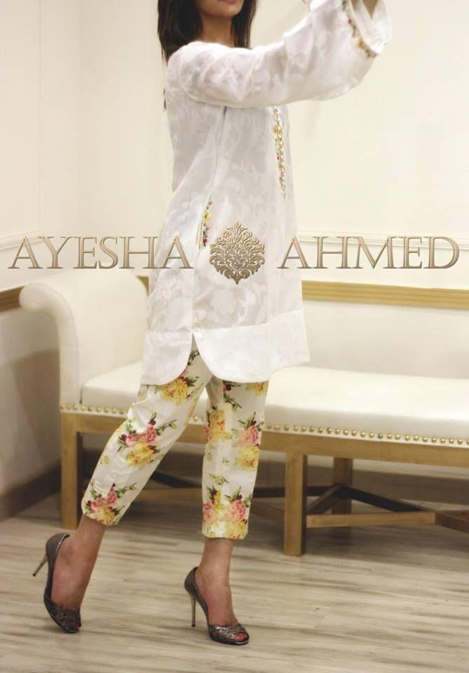 Ayesha Ahmed Spring/Summer Lawn 2016 Volume I