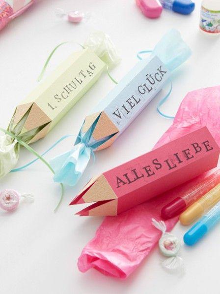 Kreative Verpackung– die tollsten Geschenke zum Schulanfang verstecken sich in…