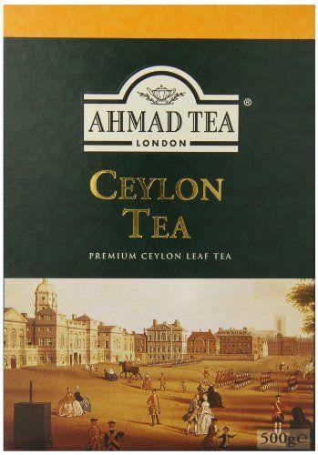 nice Ahmad Tea of London : Ceylon Tea (loose tea) 500ge/17.6 oz.