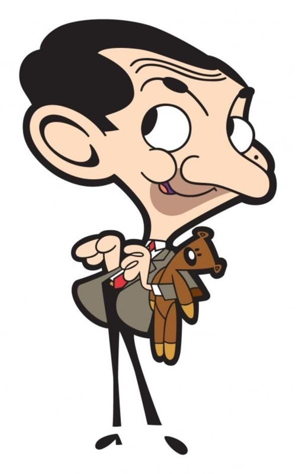 Mr Bean Cartoon, irreverent but very funny!