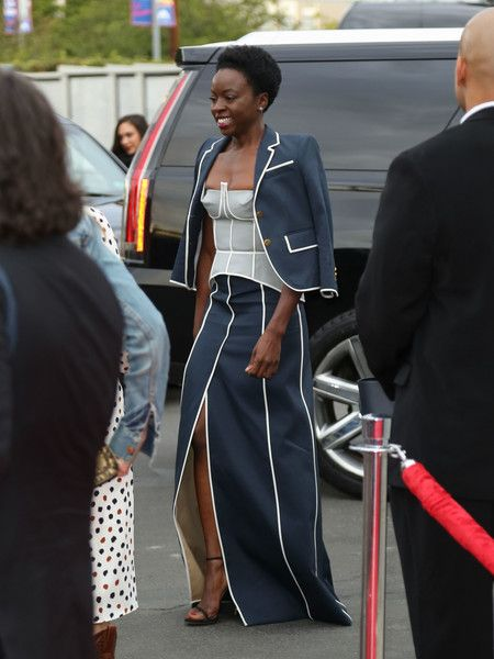 Danai Gurira Photos Photos - Danai Gurira is seen arriving at AMC 'Talking Dead Live' for the premiere of 'The Walking Dead' at the Hollywood Forever. - 'Talking Dead Live' For the Premiere of 'The Walking Dead'