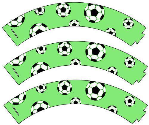 Free Printable Soccer Cupcake Wrappers - Printable Treats