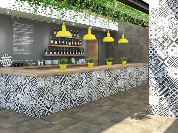 Imagen de pisos y azulejos deUso Comercial