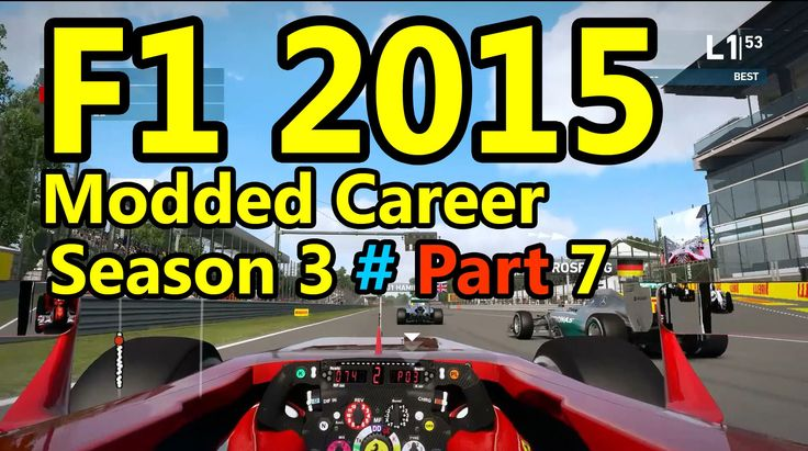 F1 2015 Gameplay Modded Career : 100% Race, Montreal 1080p HD