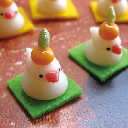 文鳥かがみもち。 mamimoon マミムーン お供え餅文鳥 - まとめのインテリア / デザイン雑貨とインテリアのまとめ。