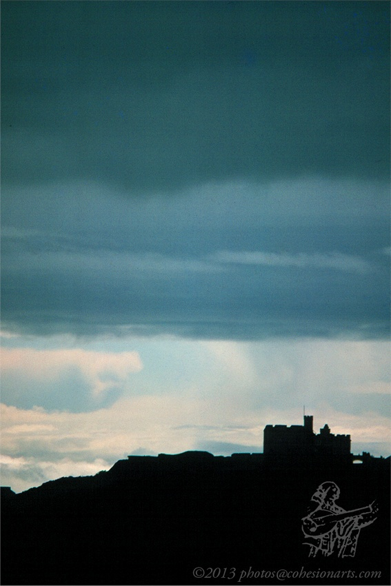 Pendennis from St Mawes - #Cornwall, England.  Photo from 1976 @thisiscornwall