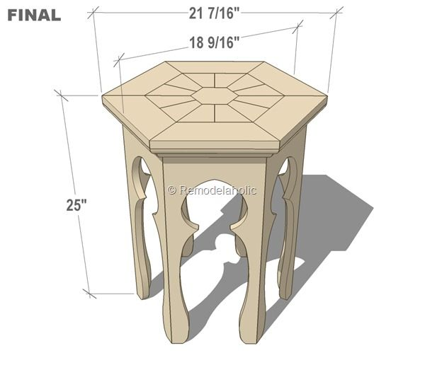 free moroccan side table plans FINAL with dimensions
