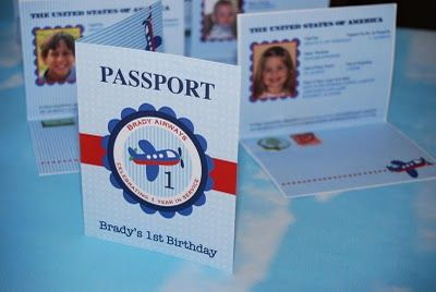 Passport idea for thinking day
